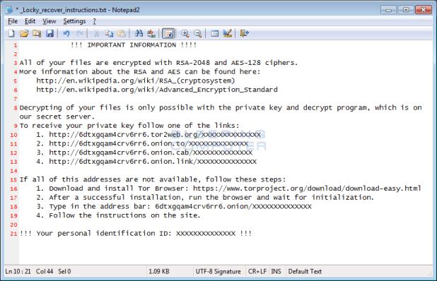 So genannte Ransomware verschlüsseln alle wichtigen Daten auf der Platte und verlangen dann ein Lösegeld für die Entsperrung.