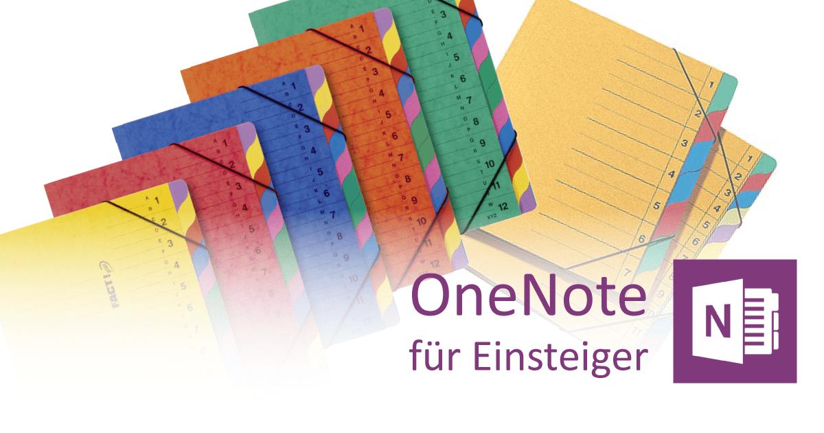 OneNote-Notizbücher: Struktur und Logik verstehen