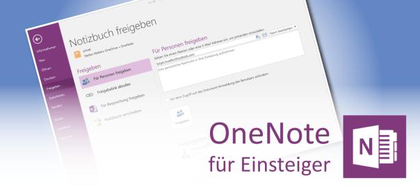 Teaserbild: OneNote-Notizbücher freigeben