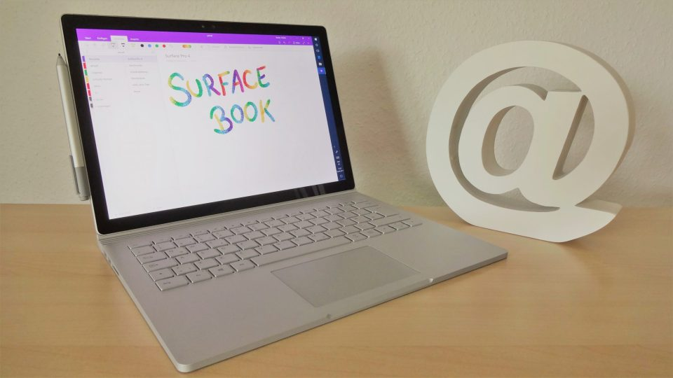 Microsoft Surface Book mit OneNote