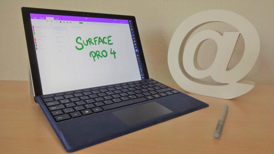Microsoft Surface Pro 4 mit OneNote
