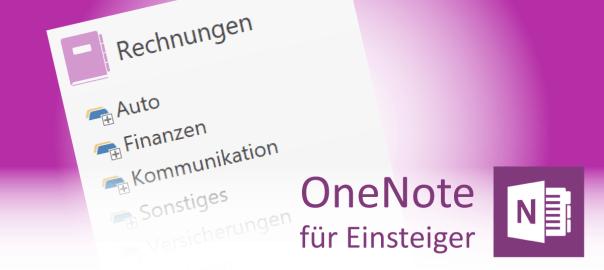 Abschnittsgruppen in OneNote - Teaser