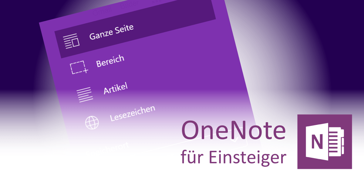 OneNote Web Clipper - Teaser