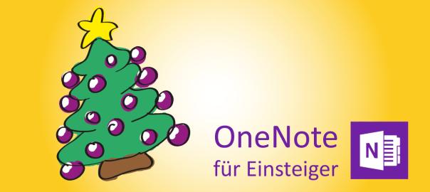 Weihnachten mit OneNote - Header
