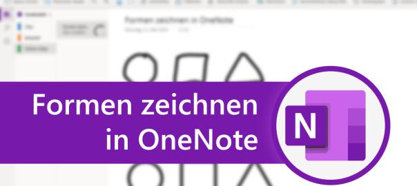 Formen zeichnen in OneNote
