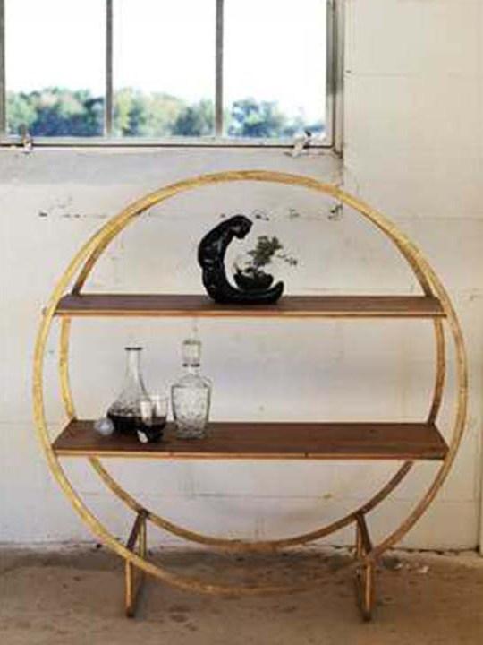 Round Circle Shelf Detail