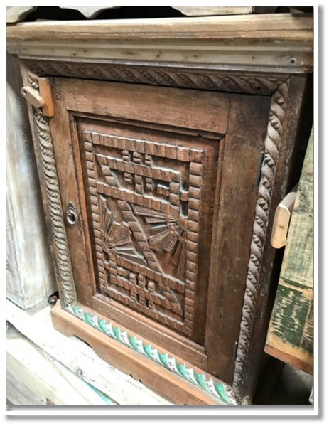 Hand Carved Chest (042) Image