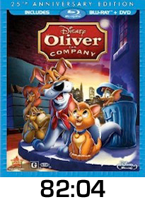 Oliver and Company Blu-ray review