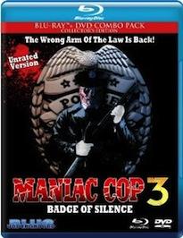 Maniac Cop 3 Blu-ray Review