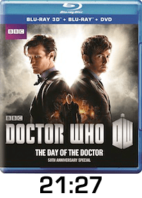 Dr Who Day of the Doctor Blu-ray Review