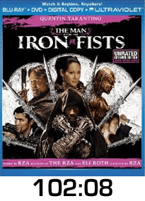 Man with the Iron Fists Blu-ray Review