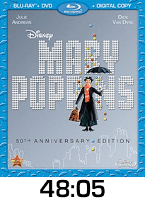 Mary Poppins 50th Anniversary Blu-ray Review
