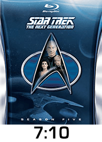 Star Trek season 5 w time