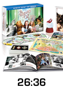 Wizard of Oz 75th Anniversary Gift Set Blu-ray Review