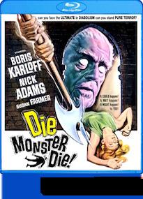Die Monster Die Blu-ray review