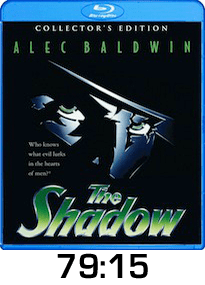 The Shadow w time