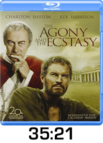 Agony and the Ecstasy w time
