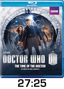Dr Who Time of the Doctor w time