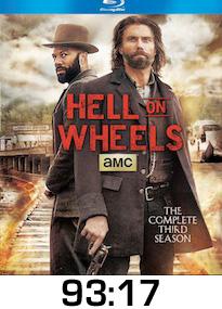 Hell on Wheels Season 3 Bluray Review