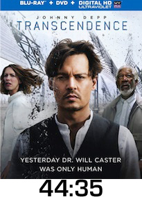 Transcendence Bluray Review