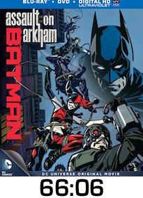 Batman Assault on Arkham Bluray Review