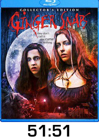 Ginger Snaps Bluray Review