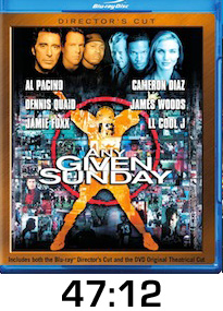 Any Given Sunday Bluray Review