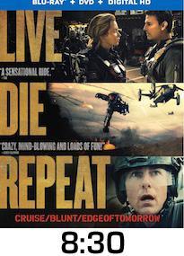 Edge of Tomorrow Bluray Review