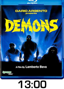 Demons Bluray Review