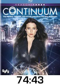 Continuum Season 3 Bluray Review
