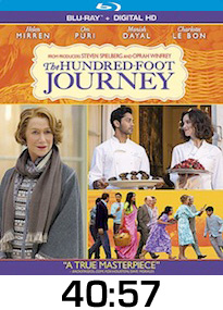 Hundred Foot Journey Bluray Review