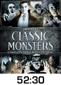 Classic Monsters 30 Film DVD Collection Review
