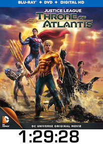 Justice League Throne of Atlantis Bluray Review