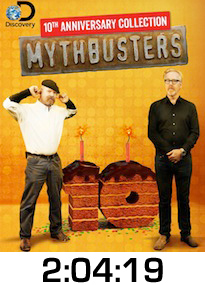 Mythbusters 10th DVD