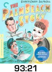 Palm Beach Story Bluray Review