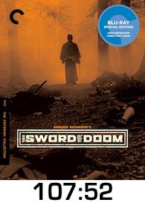 Sword of Doom Bluray Review