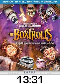 The Boxtrolls Bluray Review
