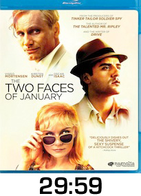 Two Faces of January Bluray Review
