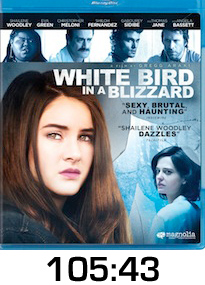 White Bird in a Blizzard Bluray Review