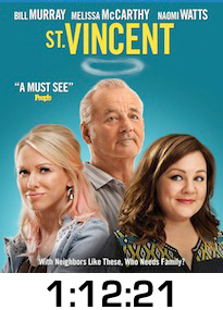 St Vincent Bluray Review