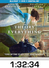 The Theory of Everything Bluray Review