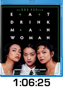 Eat Drink Man Woman Bluray Review