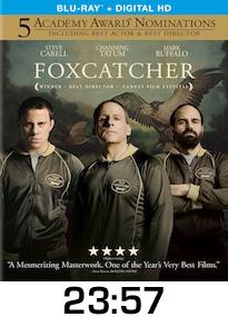 Foxcatcher Bluray Review