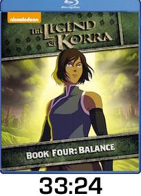 Legend of Korra Book Four Bluray Review
