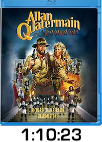 Allan Quatermain Lost City of Gold Bluray Review
