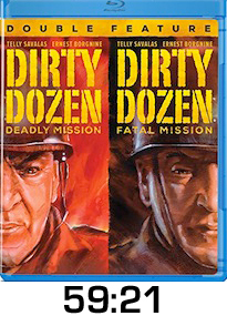 Dirty Dozen Deadly Mission Fatal Mission Bluray Review