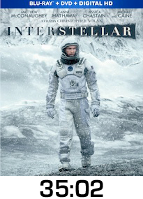 Interstellar Bluray Review