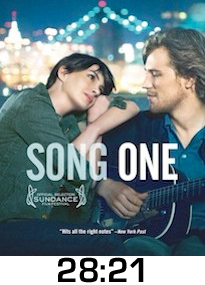 Song One Bluray Review