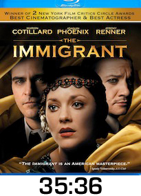 The Immigrant Bluray Review