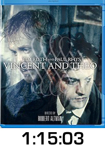 Vincent and Theo Bluray Review